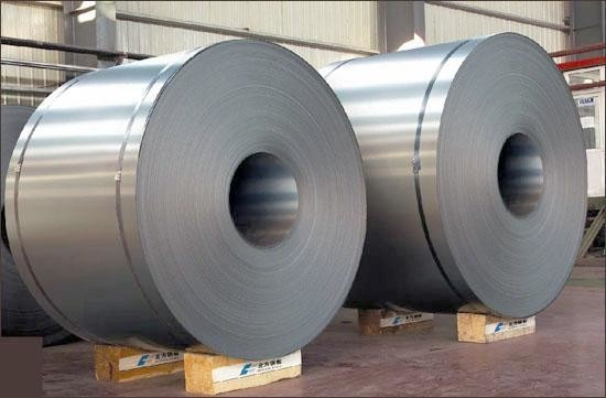 SPCC Cold Rolled Galvanized Steel Coil Regular Spangle 0.3mm Thickness